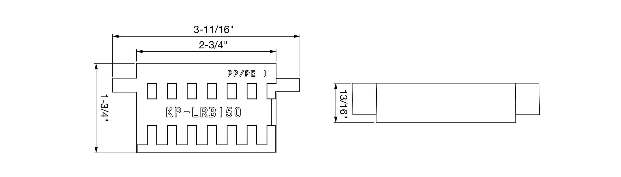KP-LRB150 Drawing