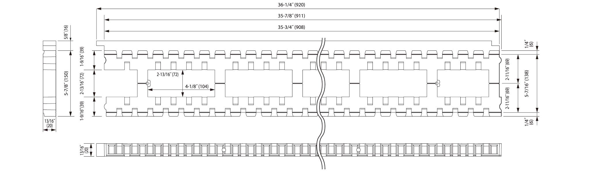 KPA-L150U Drawing